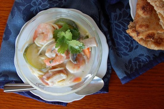 Coconut Shrimp and Bacon Soup | Soups, Stews, Chowder, Chili and Gumb ...