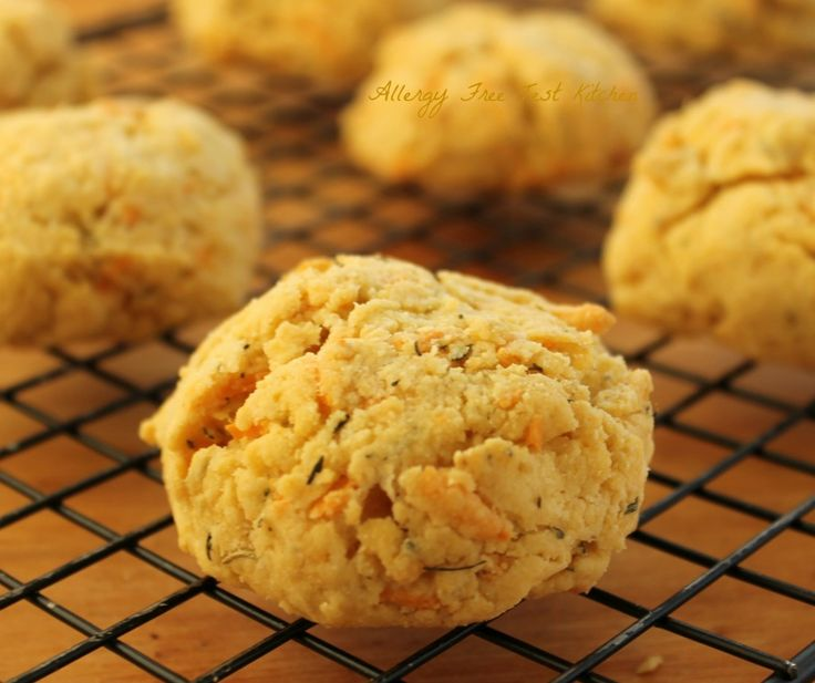 "Gluten Free Herb and ""Cheese"" Biscuits 