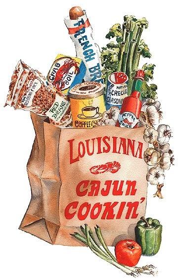 Louisiana Cajun Cookin artwork