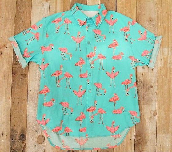 I want it now!  #flamingo #shirt