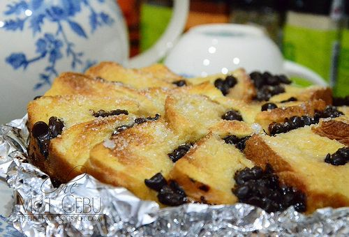 Chocolate Chip Bread Pudding | A Malaysian Food | Pinterest