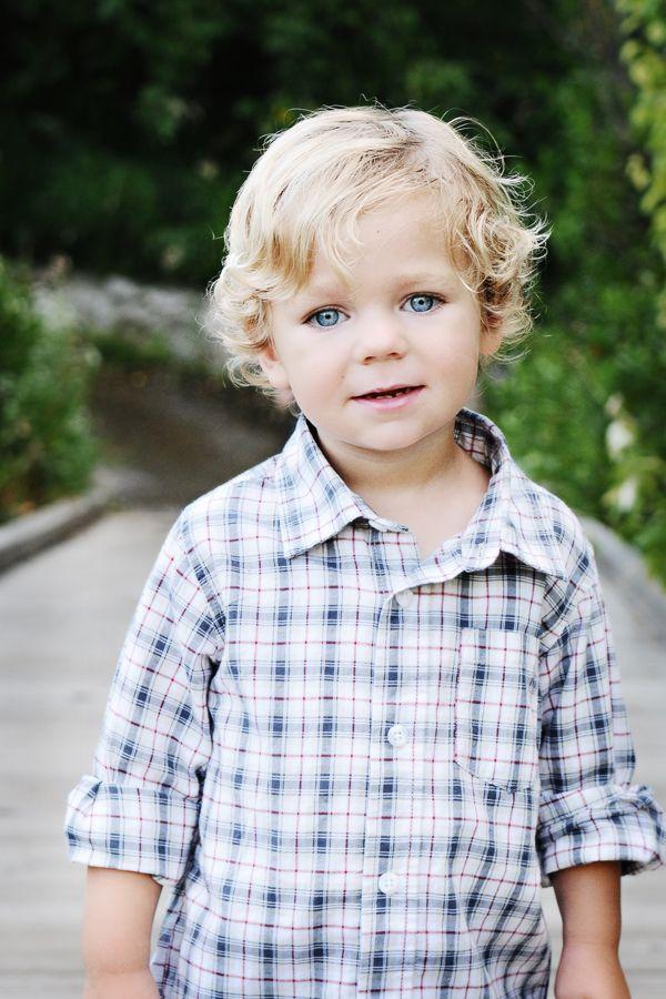 Cute 4 year old boys with blue eyes