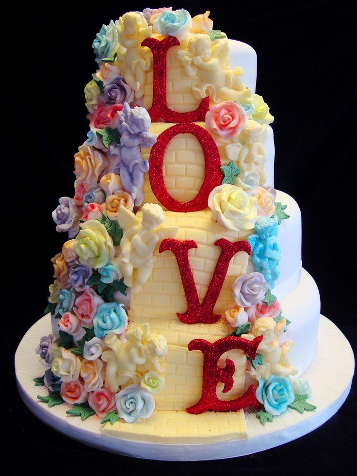 ... Cakes Tamworth Wedding Birthday Christening DIY icing - Wedding Cake