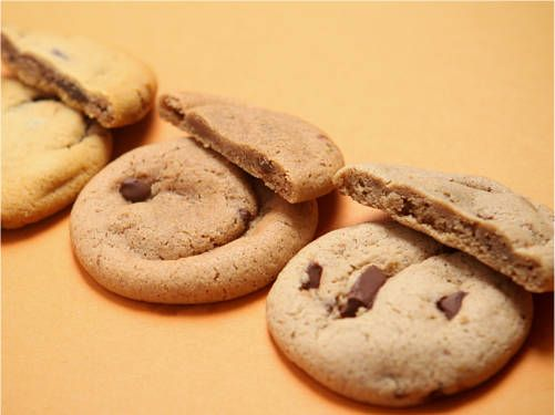 ... be my favorite store-bought chocolate chip cookies: hello, soft batch
