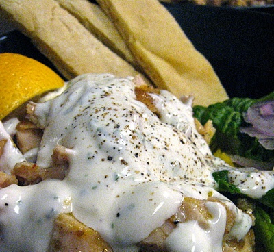... : Halal Cart Style Chicken and Rice with White Sauce. . . Fargo style