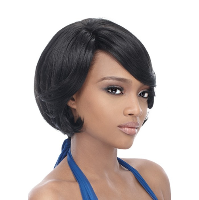 weave ponytail hairstyles with bangs : Weave Cap Hairstyles Short Hairstyle 2013