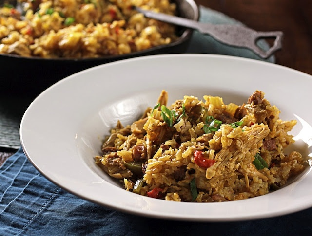 Old-School Chicken and Sausage Jambalaya | Delish | Pinterest