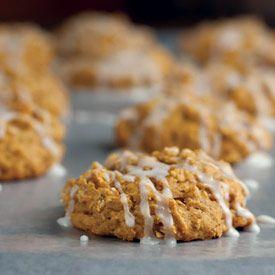 Iced pumpkin oatmeal cookies | Recipes | Pinterest