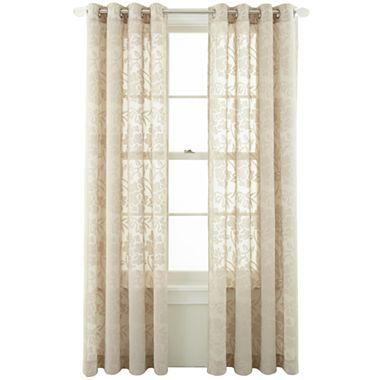 these curtains marthawindow graceful garden grommet top sheer
