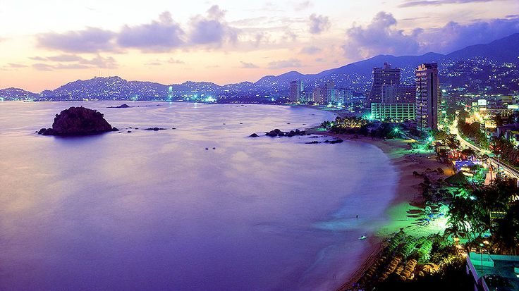 Imagine celebrating Cinco de Mayo while watching the sun set over Acapulco Bay, a popular beach resort and luxury cruise port on the Pacific Coast of Mexico.