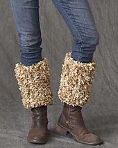 Crocheted Boot Warmer Top - Instructables.com