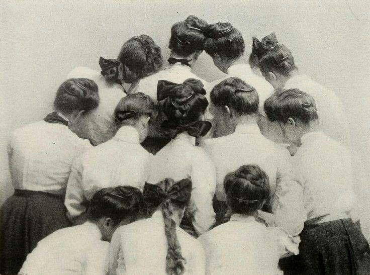 Edwardian hairstyles! | 1900's fashion | Pinterest