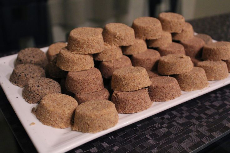 ... shortbread cookies. Polvoron mixed with ground nuts is also used as