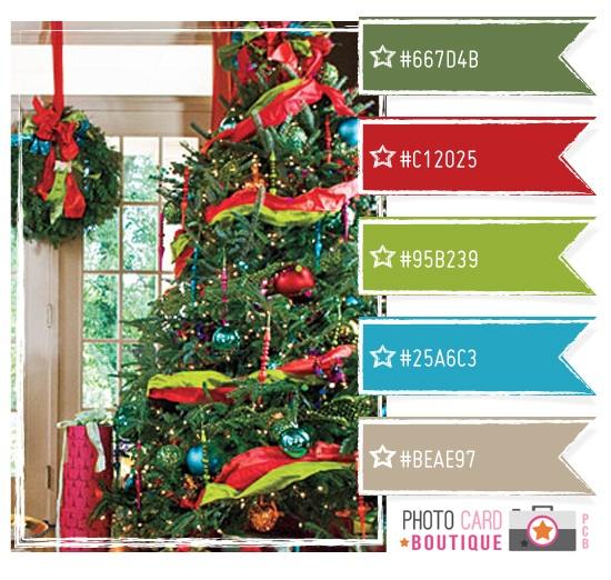 Bright Christmas Color Palette Color Love Pinterest
