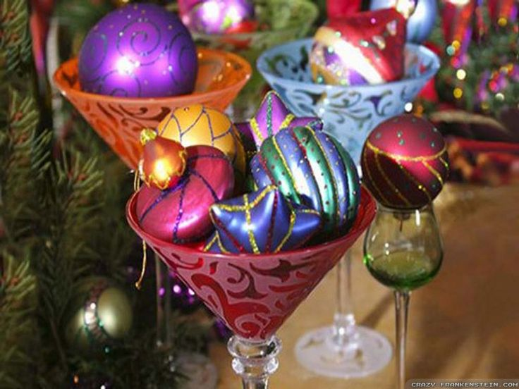 Ornament Cups Christmas Decorations Pinterest