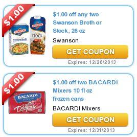 Printable coupon swanson broth