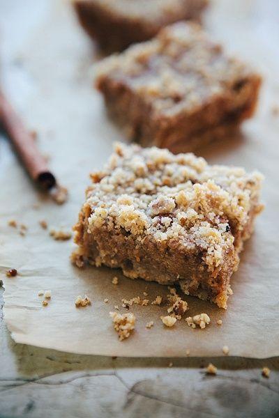 pumpkin pie bars   Cookie Recipes   Pinterest