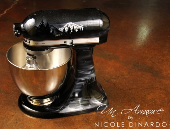 Pin by nicole dinardo on my artwork pinterest - Decorated kitchenaid mixer ...