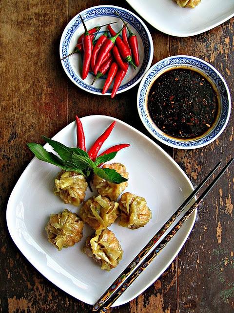 Red Curry Shrimp Dumplings by sweet sugar bean http://www ...