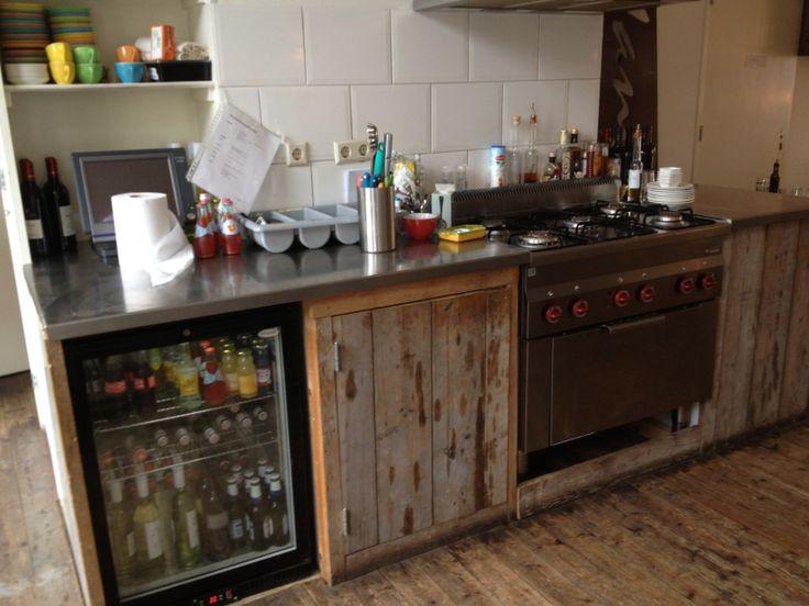Zelfgemaakte Keuken : Zelfgemaakte keuken in restaurant Van Oldenbarneveltstraat, Rotterdam