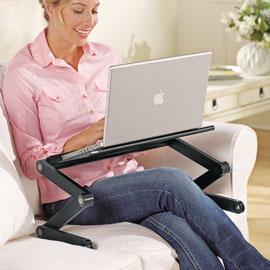 Comfylap™ Adjustable Table, Adjustable Laptop Table, Portable Laptop Desk | Solutions