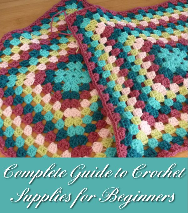 Crocheting For Beginners Supplies : Complete Crochet Supplies for Beginners