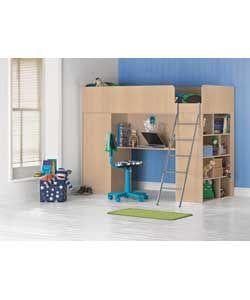 Argos high sleeper storage bed | Stuff | Pinterest