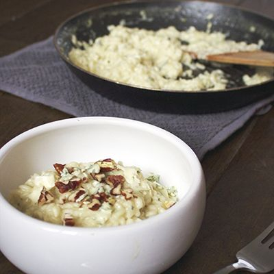 Risotto with Gorgonzola Recipe | Carbs Are Our Friends | Pinterest