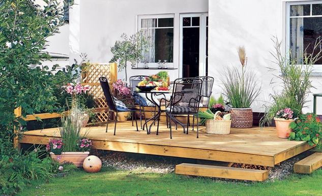Schwebende Terrasse  Outdoor Living  Pinterest