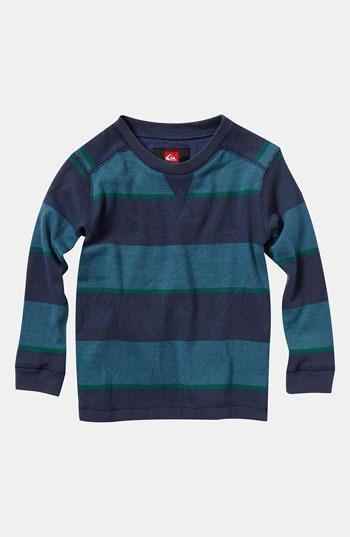 Quicksilver 'Snit' Stripe Shirt (Toddler)