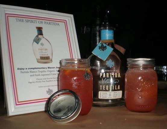 ... Partida Margarita In Their Special Glasses, In Different Flavors Like