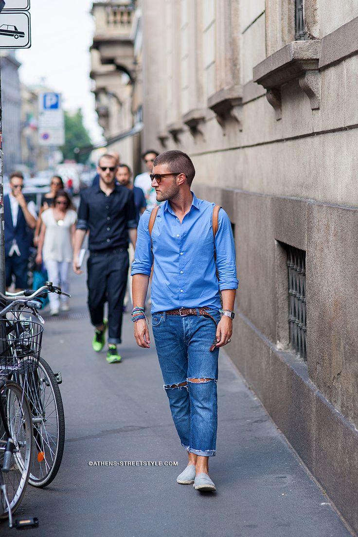 Фото в уличная мода мужчины