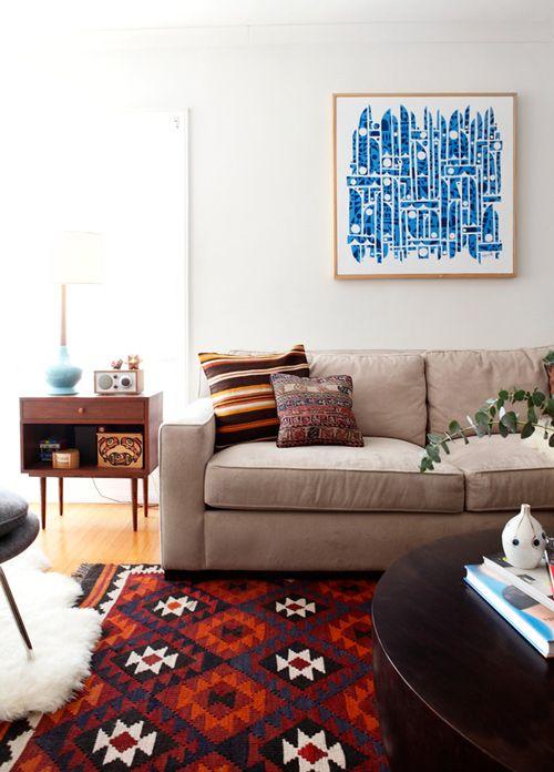 A cozy living room.