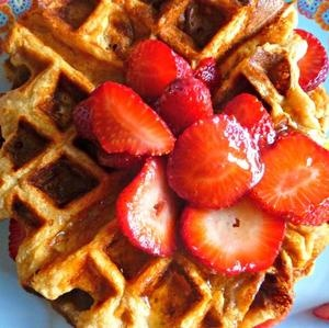Honey Yogurt Waffles | Recipe