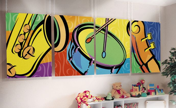 Wall Decor Music Theme : Music themed wall decor awesome kids rooms