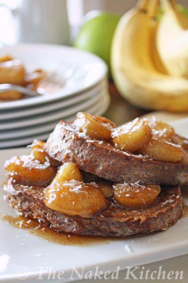 Caramelized Banana Stuffed French Toast | Food | Pinterest
