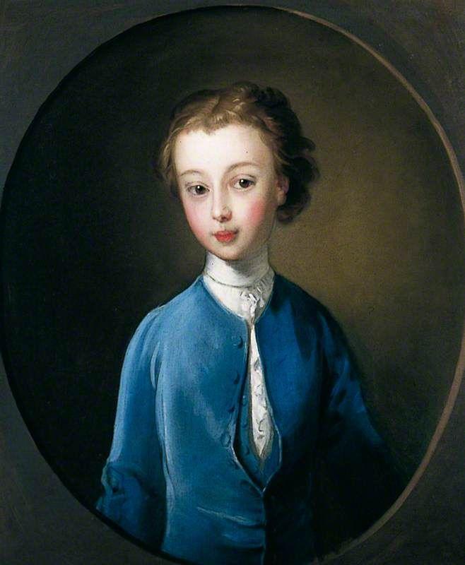 """""""Portrait of a Boy"""", Philippe Mercier, ca. 1745; YMT YORAG : 1386"""