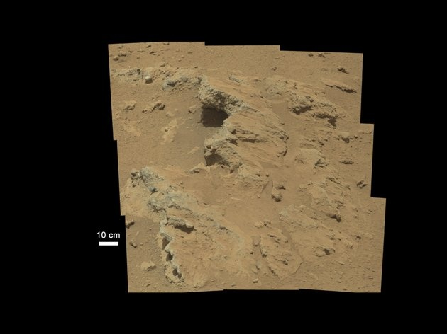 Mars rover Curiosity finds signs of ancient stream