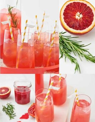 Blood Orange Gin Sparkler Recipes — Dishmaps