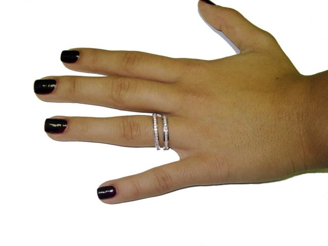 2 3 vs 2 5 mm channel set bands engagement rings