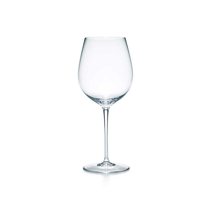 All Purpose Red Wine Glass Handblown Tiffany Co