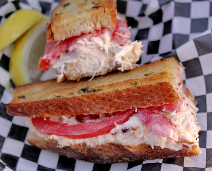 ... Eats: The Grilled Sourdough Crab Sandwich @ Crazy Crabz, AT Park