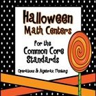 Students can learn the Common Core Standards and have fun!!! Your students will love these 9 Halloween activities that are all aligned to the Common Core Standards! ($)