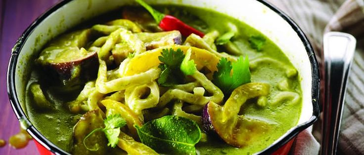 Vegetarian Thai Green Curry | Yummy recipes to try..... | Pinterest