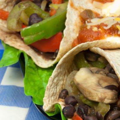 Portabella Mushroom Fajitas | food & drink | Pinterest