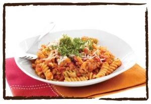 Tomato and Basil Sauce with Fusilli recipe- Italian Food and Cooking ...