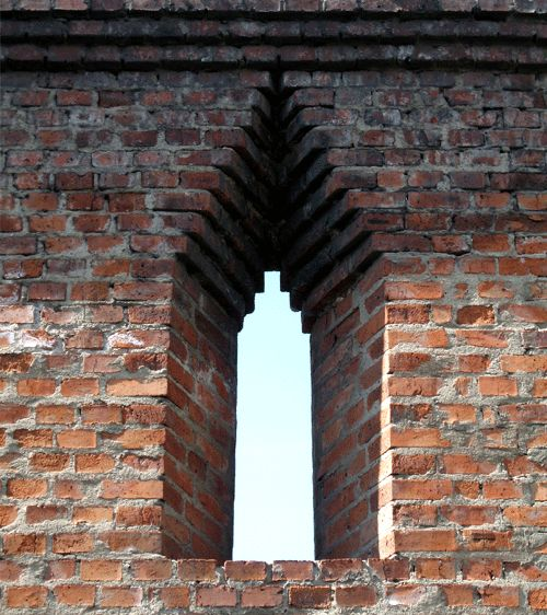 Corbeled arch architectural details pinterest for Brick architecture styles