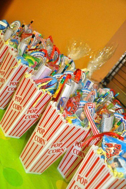 Fun! Christmas Gift Idea with Movie Tickets & Candy......