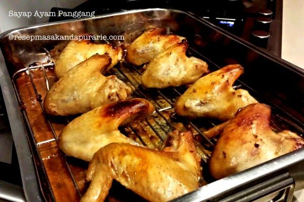 ayam panggang enak dan mudah resep masakan asia lain pinter