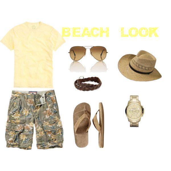 BEACH LOOK FOR MEN